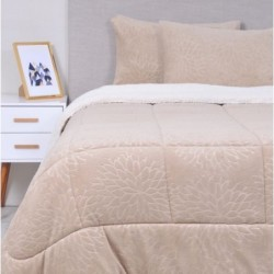 MASHINI -PLUMÓN CORAL EMBOSS SHERPA BEIGE2.5PL 816301