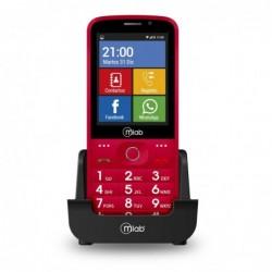MLAB - TELEFONO SENIOR 8083 3G RED