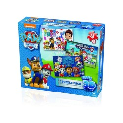 SPIN MASTER PAW PATROL PACK PUZZLES