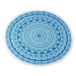 CHANTILLY TOALLA PLAYA REDONDA BLUE 150CM