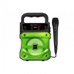MICROLAB PARLANTE MY LIL FIRST SING GREEN 8899