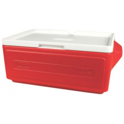 COLEMAN COOLER PARTY STACKER 24 CAN (ROJO) 6225