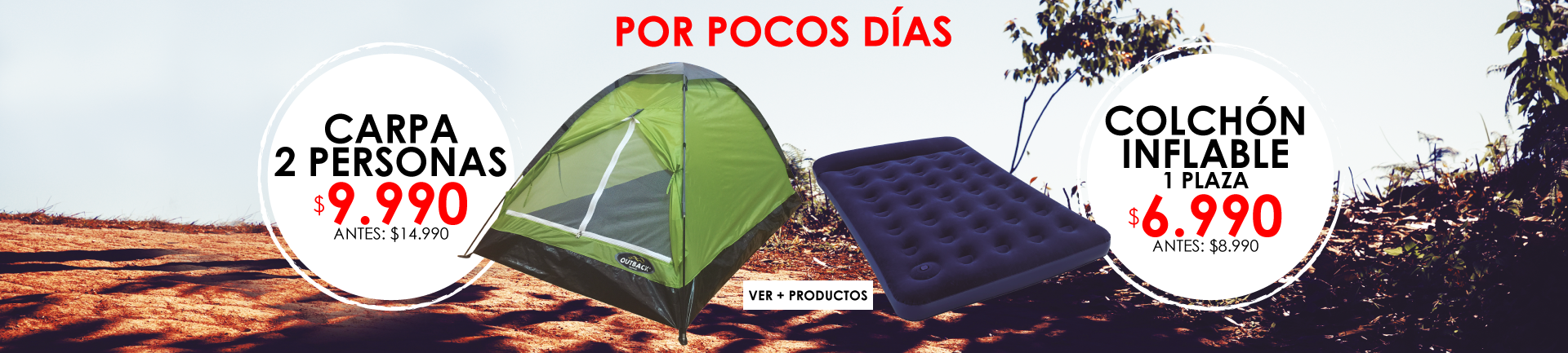 Carpas Outdoor