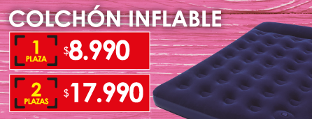 Colchon Inflable Bestway