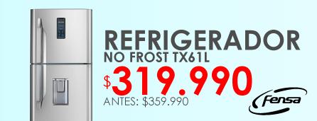 Refrigerador Fensa No Frost tx61l