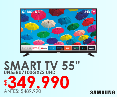 Televisor Led Samsung 4k UN55RU7100GXZS