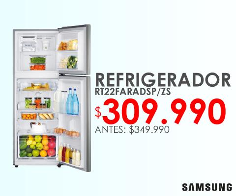 Refrigerador Samsung rt22faradsp