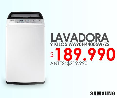Lavadora Samsung 9 Kilos wa90h4400sw