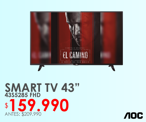 Televisor Smart tv AOC 43s5285
