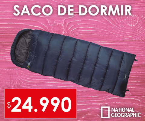 Saco de dormir National Geographic