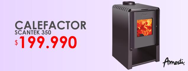 Calefactor Scantek 350