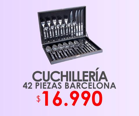 Cuchilleria 42 piezas barcelona