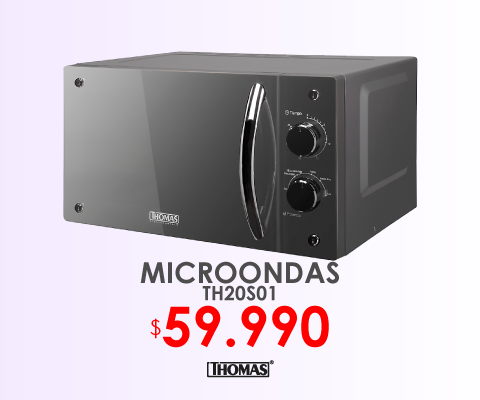 Microondas Thomas TH20S01