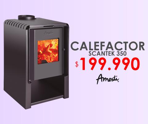 Calefactor Scandek 350 Amesti