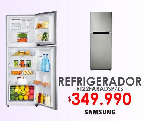 Refrigerador Samsung rt22faradsp-zs