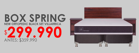 Box spring Cic villarrica