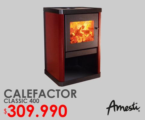 Calefactor classic 400 amesti