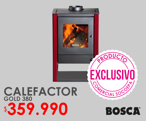 Calefactor gold 380 bosca